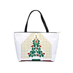 Christmas Tree Present House Star Shoulder Handbags