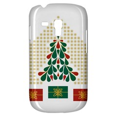 Christmas Tree Present House Star Galaxy S3 Mini by Celenk