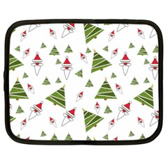 Christmas Santa Claus Decoration Netbook Case (xxl)  by Celenk