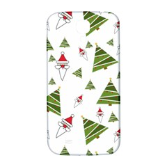 Christmas Santa Claus Decoration Samsung Galaxy S4 I9500/i9505  Hardshell Back Case by Celenk