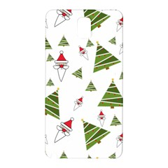 Christmas Santa Claus Decoration Samsung Galaxy Note 3 N9005 Hardshell Back Case by Celenk