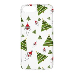 Christmas Santa Claus Decoration Apple Iphone 7 Plus Hardshell Case by Celenk