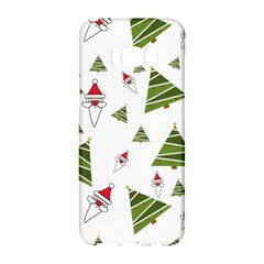 Christmas Santa Claus Decoration Samsung Galaxy S8 Hardshell Case  by Celenk