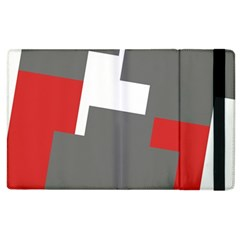 Cross Abstract Shape Line Apple Ipad 2 Flip Case