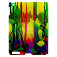 Abstract Vibrant Colour Botany Apple Ipad 3/4 Hardshell Case by Celenk