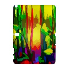 Abstract Vibrant Colour Botany Galaxy Note 1 by Celenk