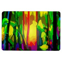 Abstract Vibrant Colour Botany Ipad Air Flip by Celenk
