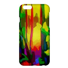 Abstract Vibrant Colour Botany Apple Iphone 6 Plus/6s Plus Hardshell Case by Celenk