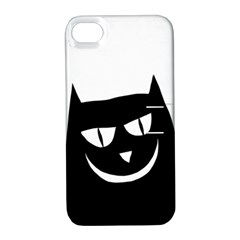 Cat Vector Clipart Figure Animals Apple Iphone 4/4s Hardshell Case With Stand by Celenk