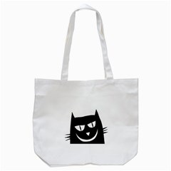 Cat Vector Clipart Figure Animals Tote Bag (white) by Celenk