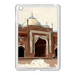 Agra Taj Mahal India Palace Apple Ipad Mini Case (white)