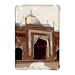 Agra Taj Mahal India Palace Apple Ipad Mini Hardshell Case (compatible With Smart Cover) by Celenk