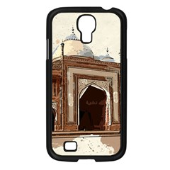Agra Taj Mahal India Palace Samsung Galaxy S4 I9500/ I9505 Case (black) by Celenk