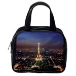 Paris At Night Classic Handbags (2 Sides) Back