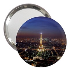 Paris At Night 3  Handbag Mirrors by Celenk