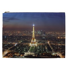 Paris At Night Cosmetic Bag (xxl)  by Celenk