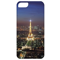 Paris At Night Apple Iphone 5 Classic Hardshell Case by Celenk
