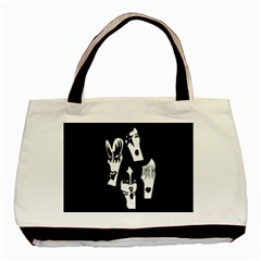 Kiss Band Logo Basic Tote Bag (two Sides) by Celenk