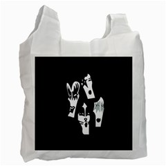 Kiss Band Logo Recycle Bag (two Side)