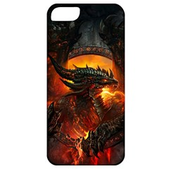 Dragon Legend Art Fire Digital Fantasy Apple Iphone 5 Classic Hardshell Case by Celenk