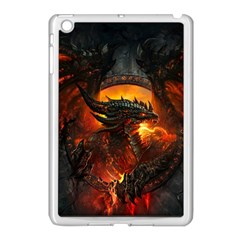 Dragon Legend Art Fire Digital Fantasy Apple Ipad Mini Case (white)