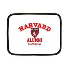 Harvard Alumni Just Kidding Netbook Case (small)
