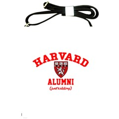 Harvard Alumni Just Kidding Shoulder Sling Bags by Celenk