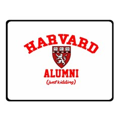Harvard Alumni Just Kidding Fleece Blanket (small) by Celenk