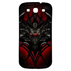 Black Dragon Grunge Samsung Galaxy S3 S Iii Classic Hardshell Back Case by Celenk