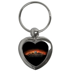 World Of Tanks Key Chains (heart)  by Celenk