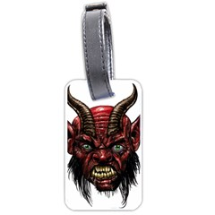 Krampus Devil Face Luggage Tags (two Sides)