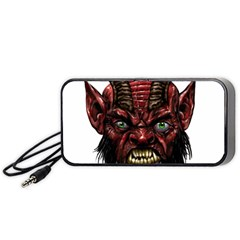 Krampus Devil Face Portable Speaker
