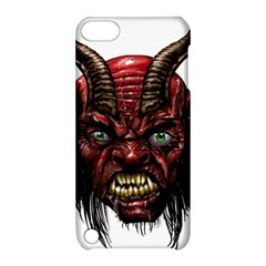 Krampus Devil Face Apple Ipod Touch 5 Hardshell Case With Stand