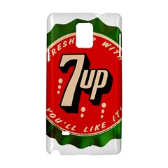 Fresh Up With  7 Up Bottle Cap Tin Metal Samsung Galaxy Note 4 Hardshell Case by Celenk