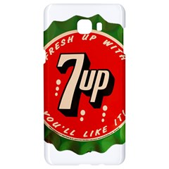 Fresh Up With  7 Up Bottle Cap Tin Metal Samsung C9 Pro Hardshell Case  by Celenk