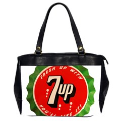 Fresh Up With  7 Up Bottle Cap Tin Metal Office Handbags (2 Sides)