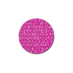 Classic Blocks,pink Golf Ball Marker (10 Pack) by MoreColorsinLife