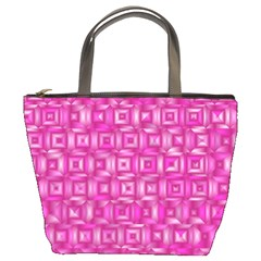 Classic Blocks,pink Bucket Bags by MoreColorsinLife