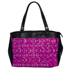 Classic Blocks,pink Office Handbags by MoreColorsinLife