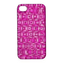 Classic Blocks,pink Apple Iphone 4/4s Hardshell Case With Stand by MoreColorsinLife