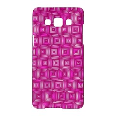 Classic Blocks,pink Samsung Galaxy A5 Hardshell Case  by MoreColorsinLife