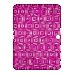 Classic Blocks,pink Samsung Galaxy Tab 4 (10 1 ) Hardshell Case  by MoreColorsinLife