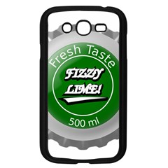 Fresh Taste Fizzy Lime Bottle Cap Samsung Galaxy Grand Duos I9082 Case (black) by Celenk