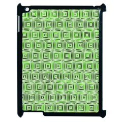 Classic Blocks,green Apple Ipad 2 Case (black) by MoreColorsinLife