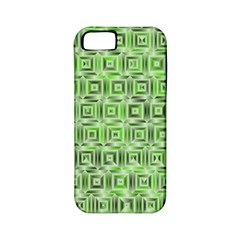 Classic Blocks,green Apple Iphone 5 Classic Hardshell Case (pc+silicone) by MoreColorsinLife