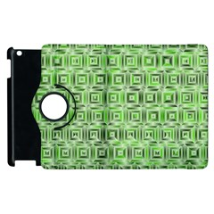 Classic Blocks,green Apple Ipad 3/4 Flip 360 Case by MoreColorsinLife