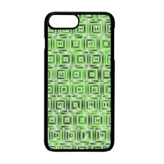 Classic Blocks,green Apple Iphone 8 Plus Seamless Case (black) by MoreColorsinLife