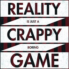 Reality Is Just A Crappy  Boring Game Magic Photo Cubes