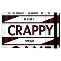 Reality Is Just A Crappy  Boring Game Apple Ipad 3/4 Flip Case by Celenk