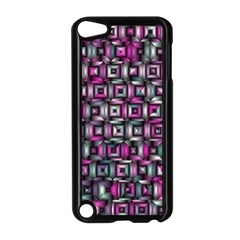 Classic Blocks,pink Combo Apple Ipod Touch 5 Case (black)